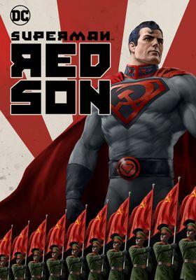수퍼맨: 레드 선의 포스터