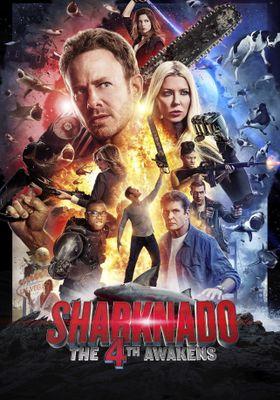 『シャークネード4 ザ・フォース・アウェイクンズ』のポスター