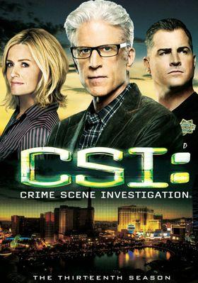 CSI: Crime Scene Investigation Season 13's Poster