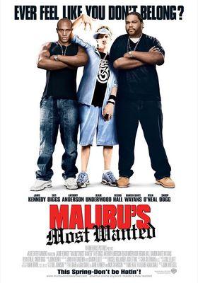 말리부의 8마일의 포스터