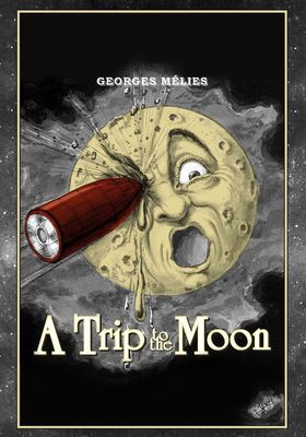 A Trip to the Moon's Poster