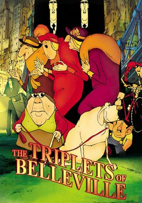 The Triplets of Belleville's Poster