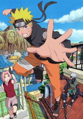 Naruto Shippūden Season 1's Poster