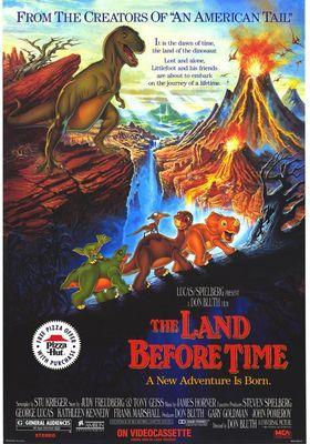 『リトルフットの大冒険 謎の恐竜大陸』のポスター