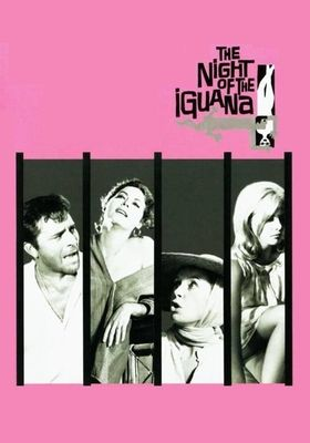 The Night of the Iguana's Poster