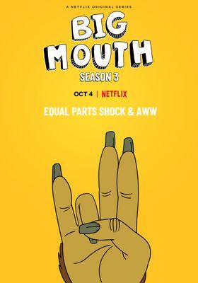 Big Mouth Season 3's Poster