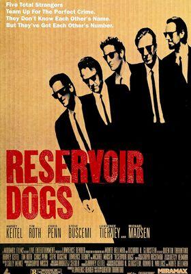 『レザボア・ドッグス』のポスター