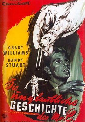 『縮みゆく人間』のポスター