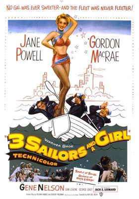 Three Sailors And A Girl's Poster