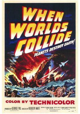세계가 충돌할 때의 포스터