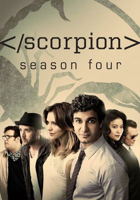 Scorpion Season 4's Poster