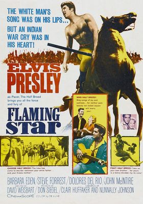 Flaming Star's Poster