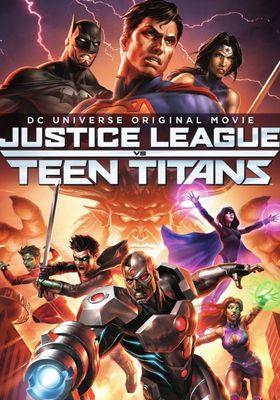 Justice League vs. Teen Titans's Poster