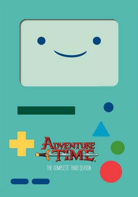 『アドベンチャー・タイム シーズン3』のポスター