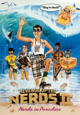 Revenge of the Nerds II: Nerds in Paradise's Poster