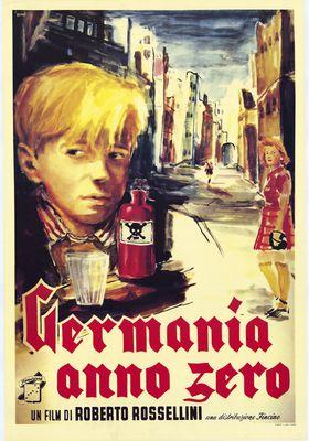 『Germania anno zero』のポスター