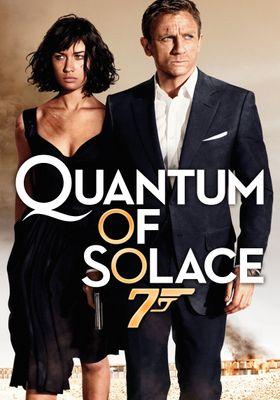 Quantum of Solace's Poster