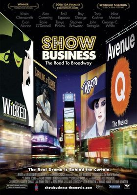 『ShowBusiness: The Road to Broadway』のポスター
