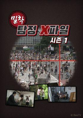 밀착 탐정 X 파일 시즌 1의 포스터