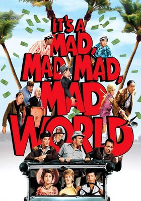 It's a Mad, Mad, Mad, Mad World's Poster
