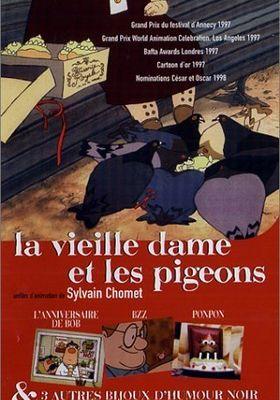 노부인과 비둘기들의 포스터