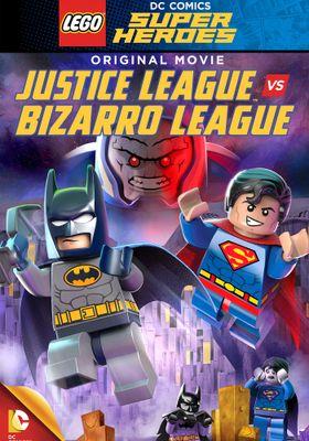 레고 DC 코믹스 슈퍼 히어로: 저스티스 리그 vs 비자로 리그의 포스터