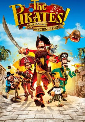 The Pirates! In an Adventure with Scientists!'s Poster