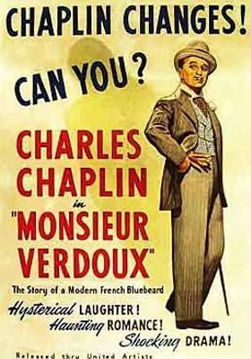 Monsieur Verdoux's Poster