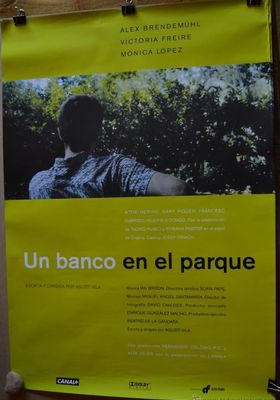 공원의 벤치의 포스터