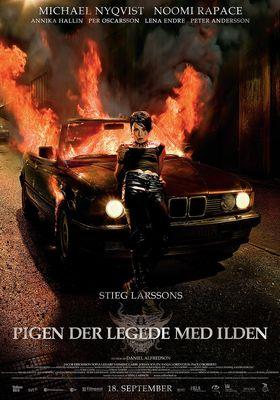 『ミレニアム 2 火と戯れる女』のポスター