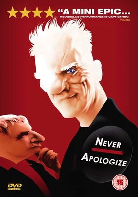 Never Apologize's Poster