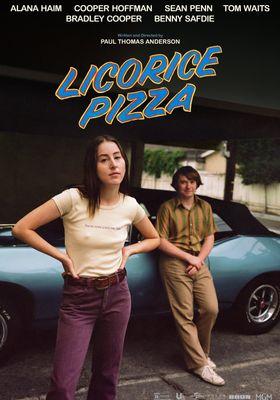 『Licorice Pizza(原題)』のポスター