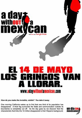A Day Without a Mexican's Poster