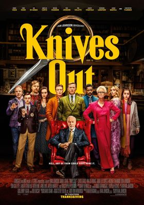 Knives Out's Poster