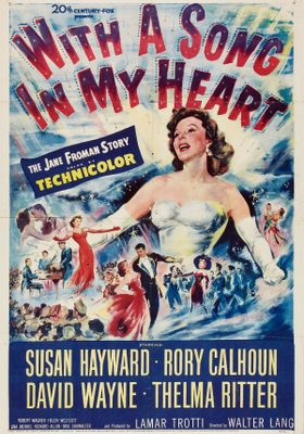 With a Song in My Heart's Poster