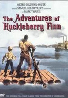허클베리 핀의 모험의 포스터
