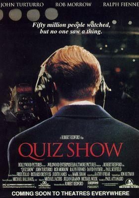 퀴즈 쇼의 포스터