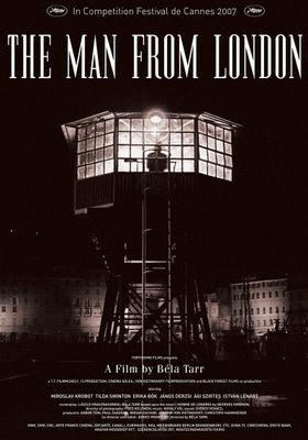 『倫敦から来た男』のポスター