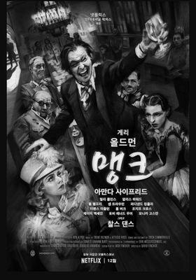 『Mank マンク』のポスター