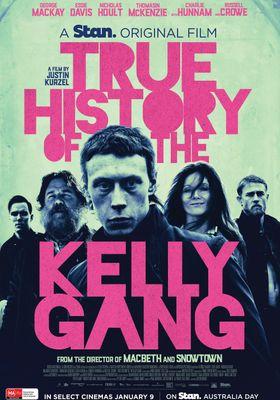 『True History of the Kelly Gang(原題)』のポスター