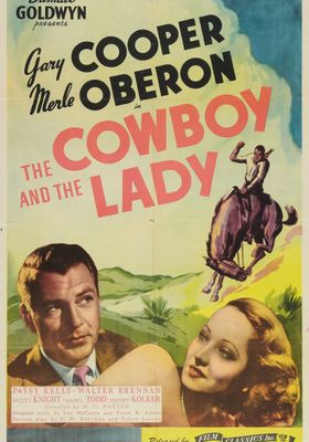 The Cowboy and the Lady's Poster