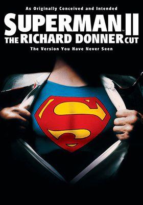 슈퍼맨 2 - 리차드 도너 편집판의 포스터