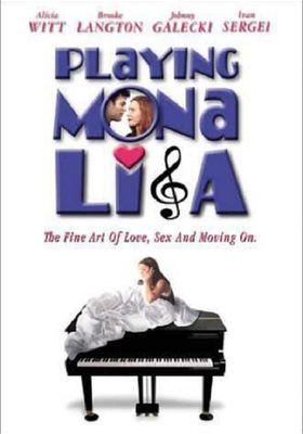 Playing Mona Lisa's Poster
