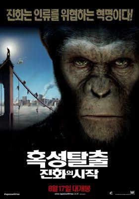 『猿の惑星:創世記(ジェネシス)』のポスター