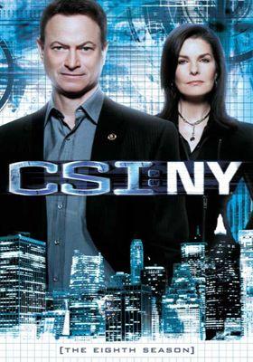 CSI: 뉴욕 시즌 8의 포스터