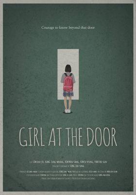 Girl at the door's Poster