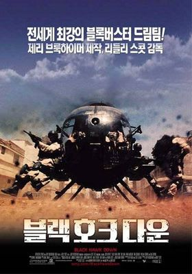 Black Hawk Down's Poster