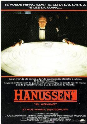 『ハヌッセン』のポスター