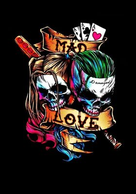 『Untitled Joker/Harley Quinn Project 』のポスター