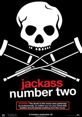 『jackass number two』のポスター